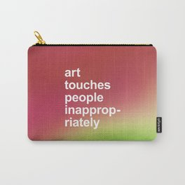 ART TOUCHES PEOPLE Carry-All Pouch