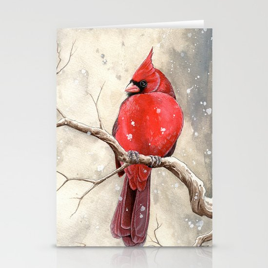 Northern Cardinal Stationery Cards