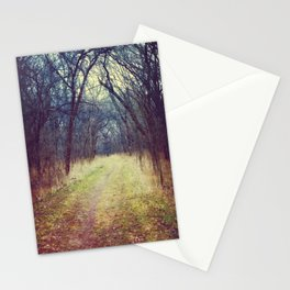 The Woods Are Lovely, Dark and Deep...  Stationery Cards