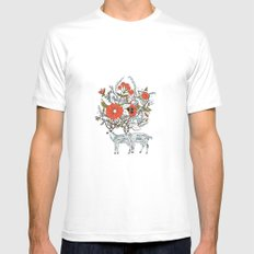 we were together Mens Fitted Tee White MEDIUM