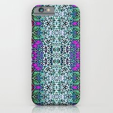 Lavender and Teal Slim Case iPhone 6s