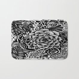 Zentangle Fishes! Fishes! Fishes! Bath Mat