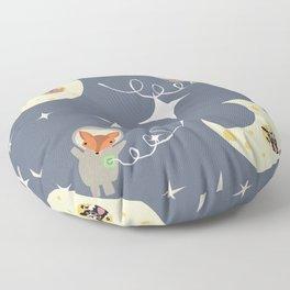 over the moon Floor Pillow