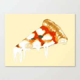 Pizza Napoletana Canvas Print