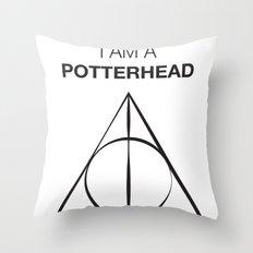 I am a Potterhead Throw Pillow
