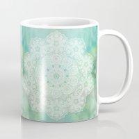 Green Mandala Mug