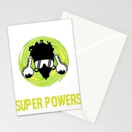 """Great Laboratory Tee For Scientists """"Forget Lab Safety I Want Super Powers"""" T-shirt Design Flask Stationery Cards"""