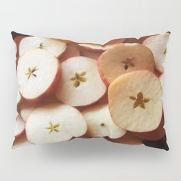 Sliced Apple Stars Pillow Sham