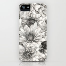 Summer in Charcoal iPhone Case