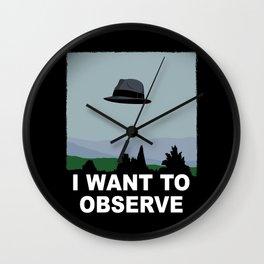 I Want to Observe Wall Clock