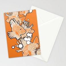 Scorpio fish Stationery Cards