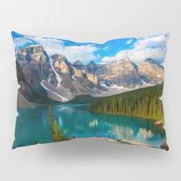 Placid lake Pillow Sham
