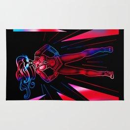Super Heroine Rug