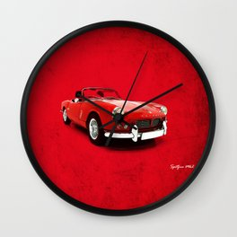 Triumph Spitfire Mk2 Wall Clock