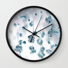 Cherry Flower 2 (spring floral pattern) Wall Clock