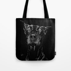 The Curious Expressions of Dogs Tote Bag