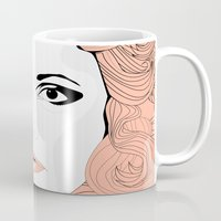 stevie nicks Mugs featuring Stevie by IN SEARCH OF GOOD THINGS