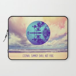 Eternal Summer -Beach- Laptop Sleeve