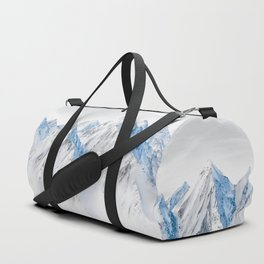 Snow Capped Mountains Duffle Bag