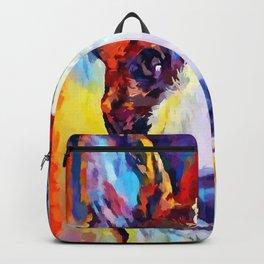 Bull Terrier 2 Backpack