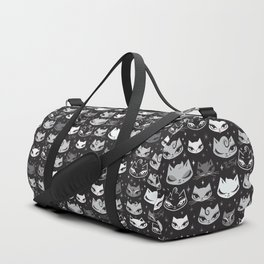 Rockabilly Cats with Pompadours Duffle Bag