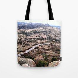 Long and winding road Tote Bag