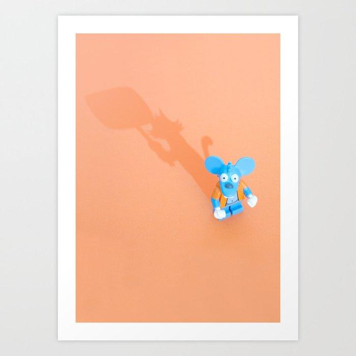 Best Enemies - 01 Art Print