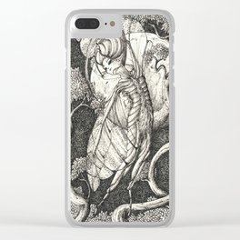 Night fairy Clear iPhone Case