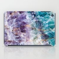 crystals iPad Cases featuring crystals  by lokyic
