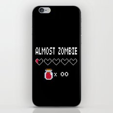 Almost Zombie iPhone & iPod Skin