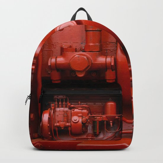 Red Tractor motor Backpack