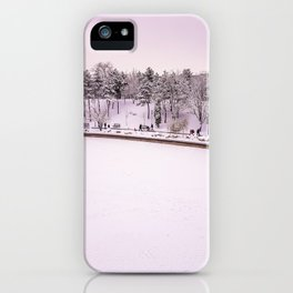 Winter in Bucharest iPhone Case