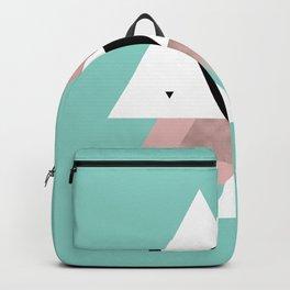 Modern triangles Backpack