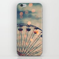 ferris wheel iPhone & iPod Skins featuring Ferris Wheel by Juste Pixx Photography