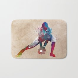 Baseball player 3 #baseball #sport Bath Mat