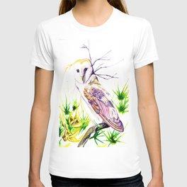 Owl Furze Wisdom  T-shirt