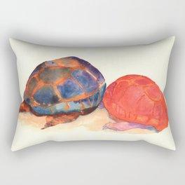 A couple of turtles Rectangular Pillow