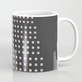 Geometric patterned small square pastel color perfect for original man's gift Coffee Mug