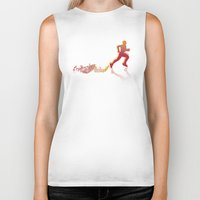 runner Biker Tanks featuring RUNNER by FoOlRusN