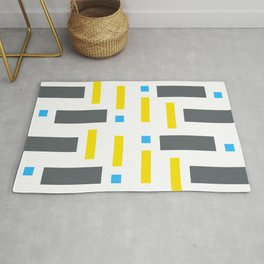 Pattern of Squares - Color Rug