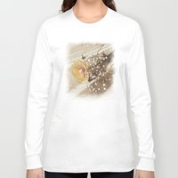 poetry Long Sleeve T-shirts featuring Vintage poetry by Viviana Gonzalez