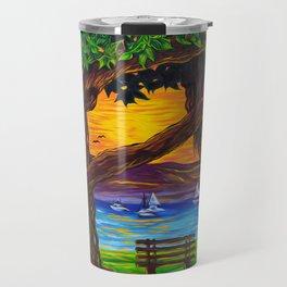 Banyan Bliss Left Travel Mug