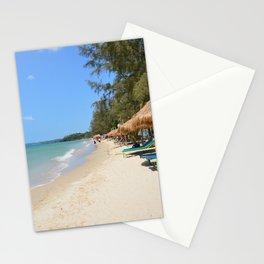 Otres Beach Sihanoukville Cambodia Stationery Cards