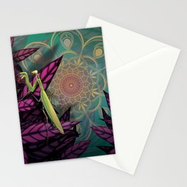 Praying Mantis Stationery Cards