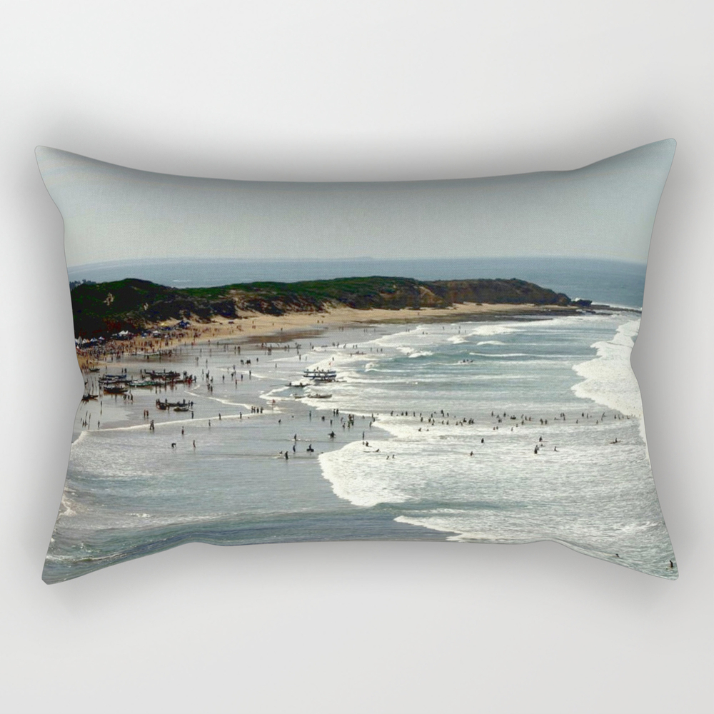 Torquay Heads - Rowing Regatta - Australia Couch Throw Pillow RPW860131
