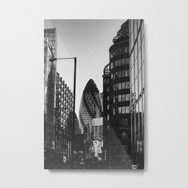 The Gherkin, London Metal Print