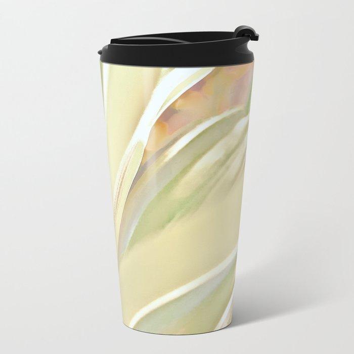 Grow, Body Flowing Out Of Spirit Metal Travel Mug
