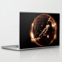 miles davis Laptop & iPad Skins featuring Miles Davis - Jazz´n away by ARTito