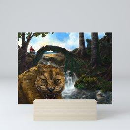 The Jaguar Guardian Mini Art Print