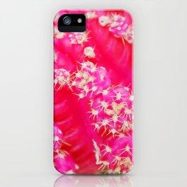Pink Hat Cactus iPhone Case